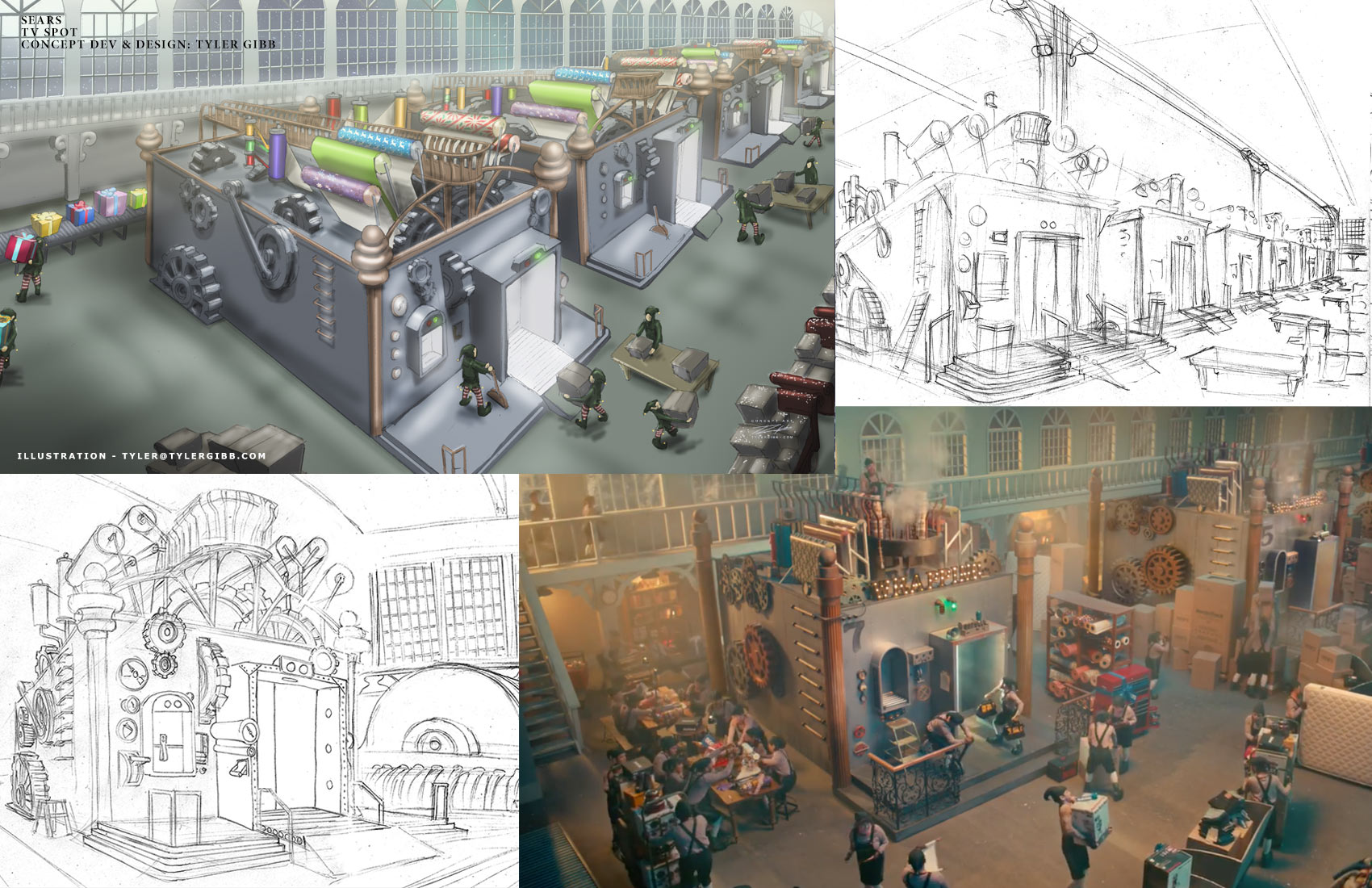 Tyler Gibb Previs Storyboards Concept Design And Concept Art Illustration Portfolio For Pre