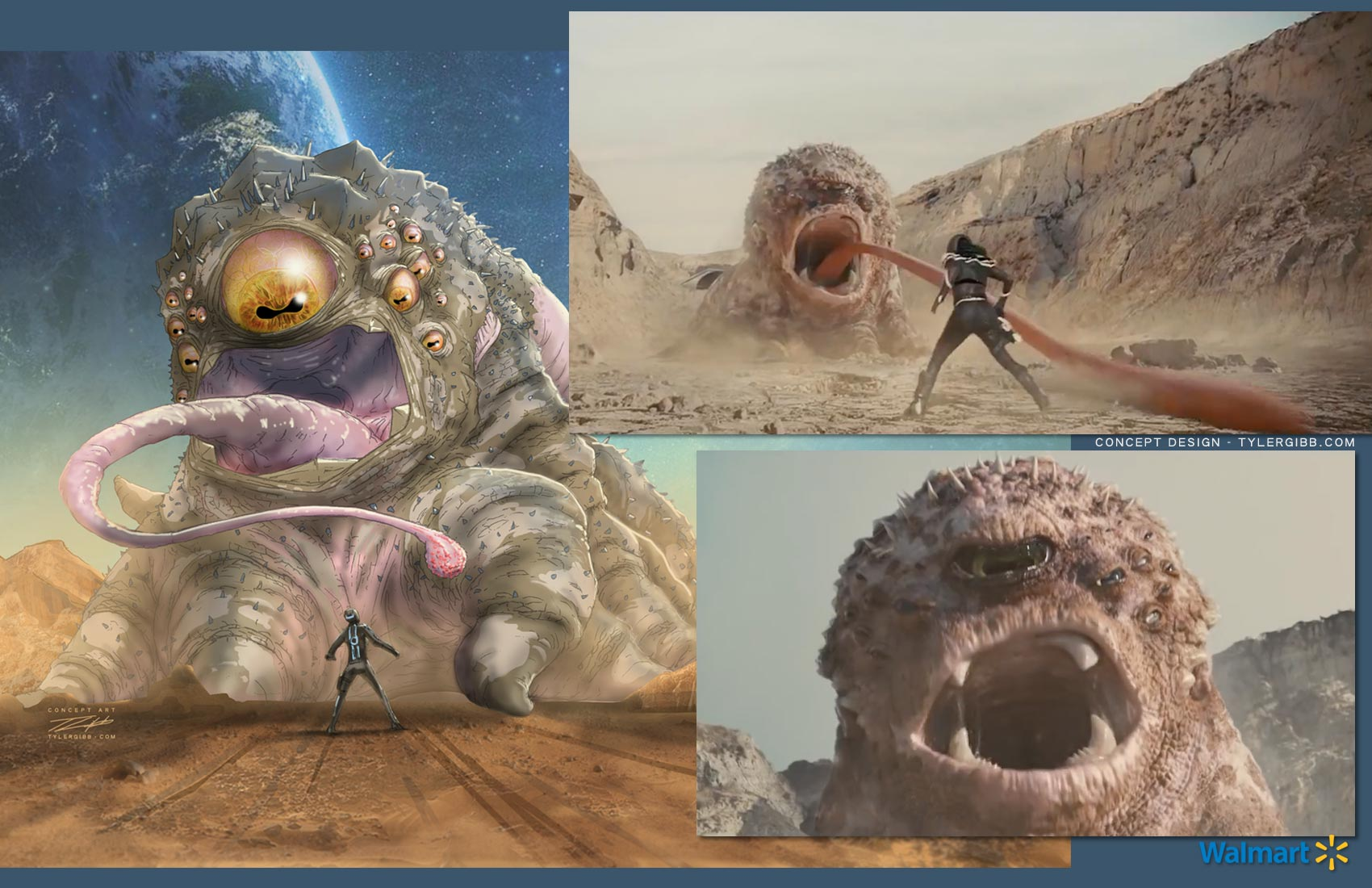 Tyler Gibb - Previs Storyboards Concept Design and Concept